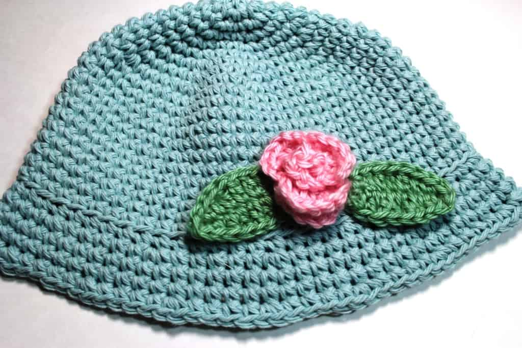 ec4b3499484 Crochet Summer Baby Hats - All Crafts Channel