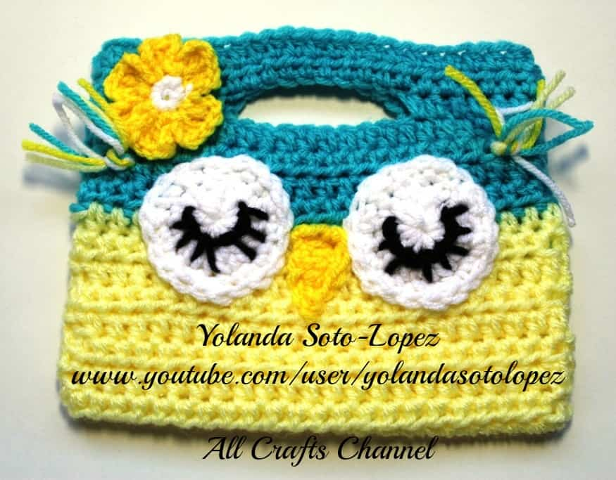Crochet Owl Purse All Crafts Channel