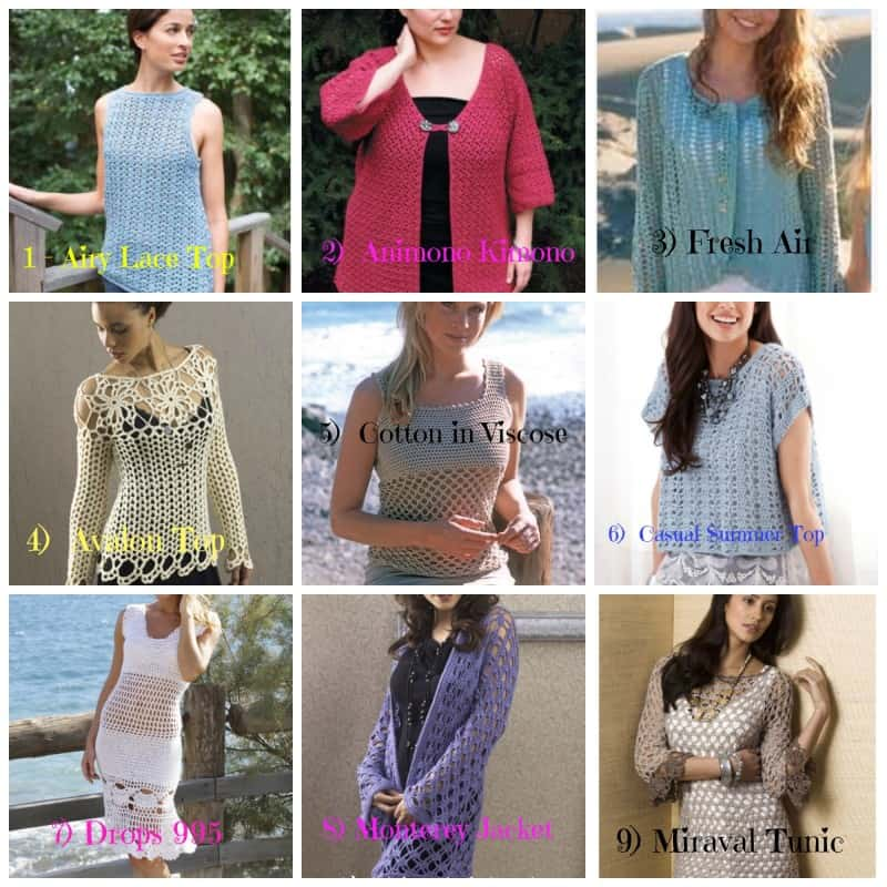 25 Plus Size Free Crochet Garment Pattern Round Up All Crafts