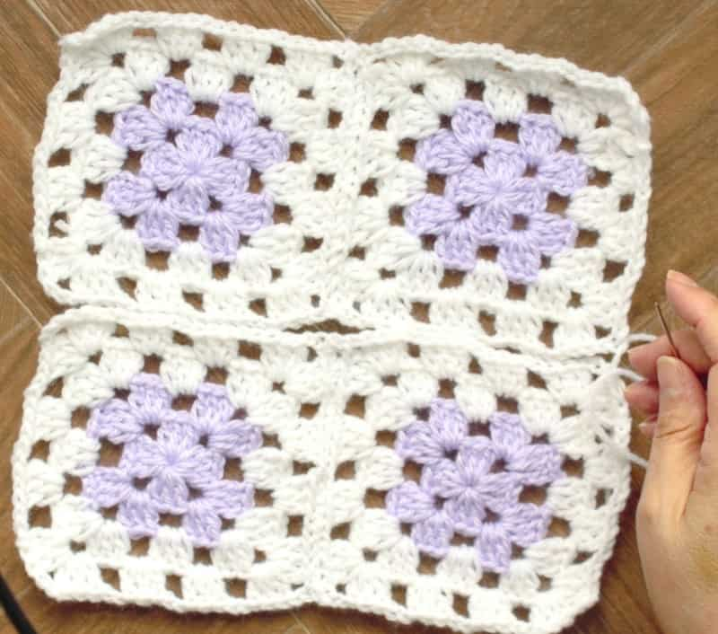 Knitting Granny Squares For Beginners : Even beginners can crochet a granny square baby sweater