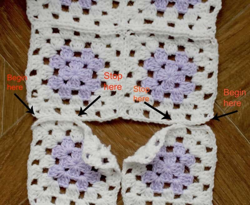 Even beginners can Crochet a Granny Square Baby Sweater ...