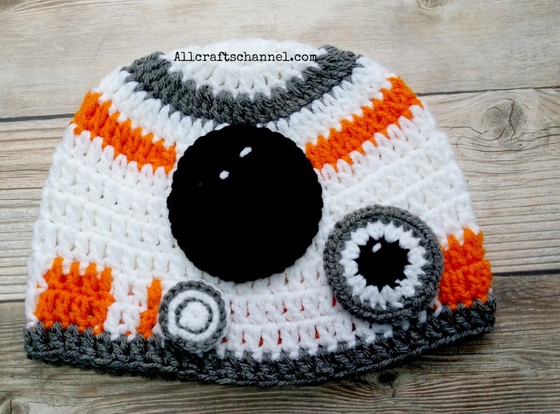 5dd8a789b05 ... cheap todays project is a robot crochet hat all crafts channel 8a2e0  a40c2