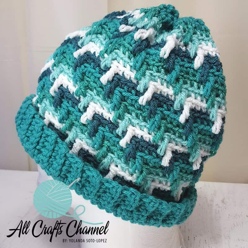 Crochet Apache Tears Hat The Easy Way All Crafts Channel